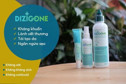 Dizigone – Bộ sản phẩm trị lở loét da cho người già mau lành – nhanh khỏi 1