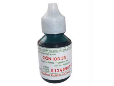 7. Cồn iod 5% 1