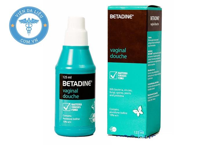 2. Dung dịch Betadine xanh dương phụ khoa 1