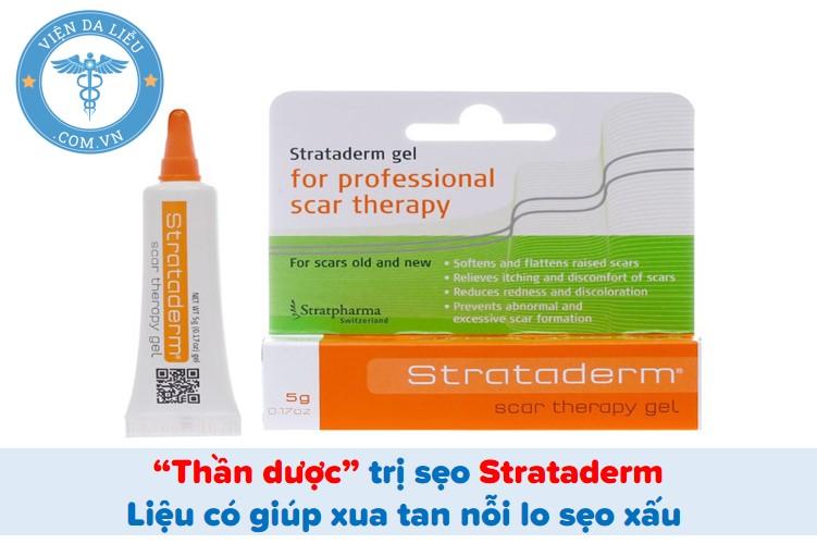 """""""Thần dược"""" trị sẹo Strataderm: Liệu có giúp xua tan nỗi lo sẹo xấu? 1"""