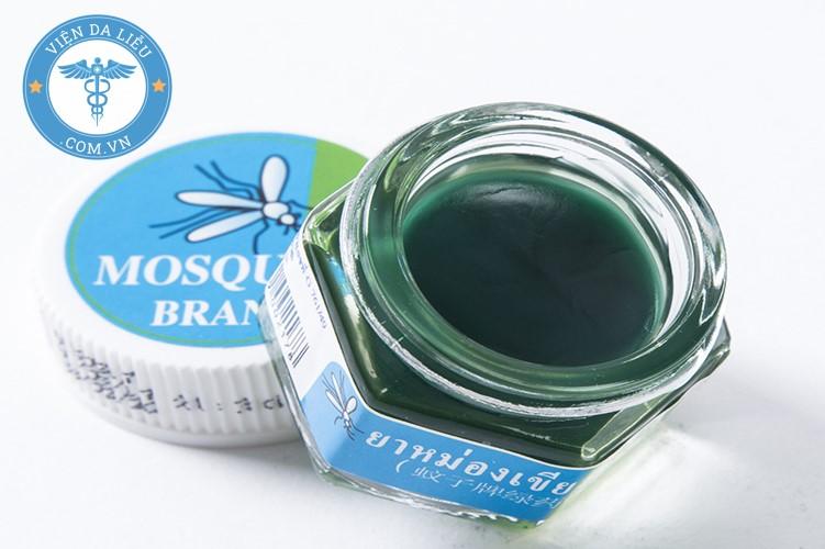 7. Thuốc bôi côn trùng cắn Thái Lan Green Mosquito Balm 1