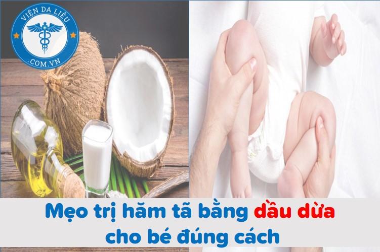 Mẹo trị hăm tã bằng dầu dừa cho bé đúng cách 1