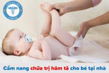 Cẩm nang chữa trị hăm tã cho bé tại nhà