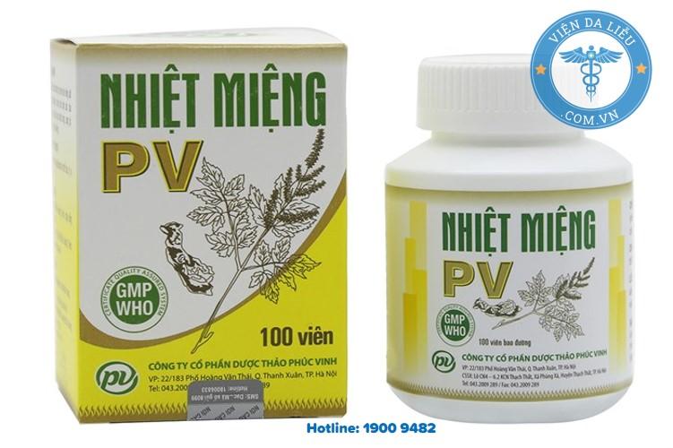 II. Thành phần của nhiệt miệng PV 1