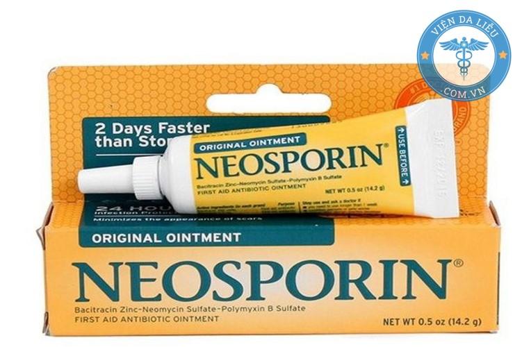 1. Thuốc mỡ Neosporin 1