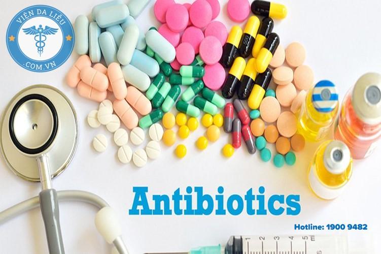 2. Sử dụng thuốc kháng sinh điều trị toàn thân 1