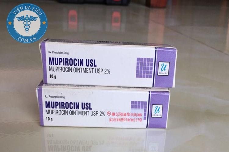 1. Thuốc bôi chốc mép Mupirocin USL 1
