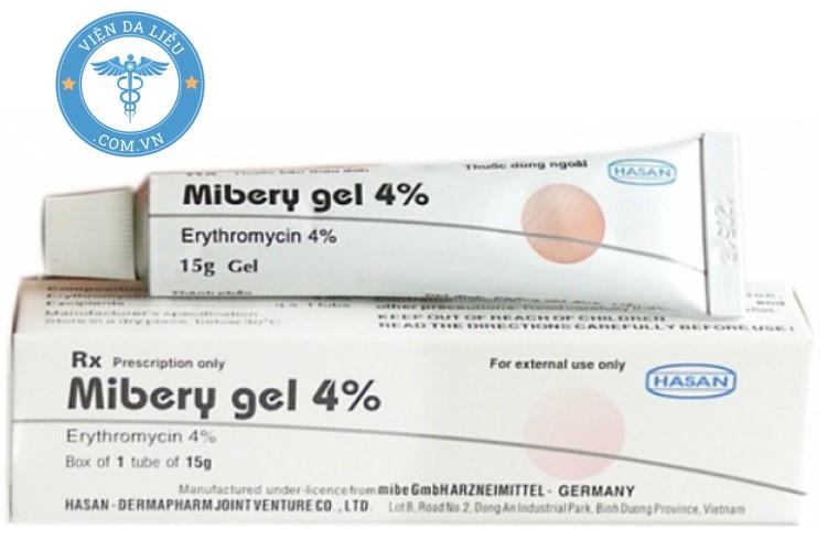 3. Thuốc bôi chốc mép Mibery gel 4% 1