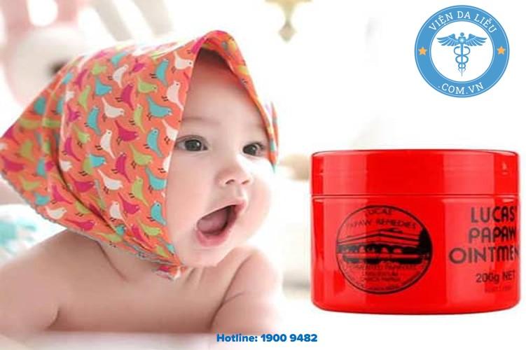 1. Phân tích tác dụng phòng ngừa và xử lý hăm tã của kem hăm Lucas 1